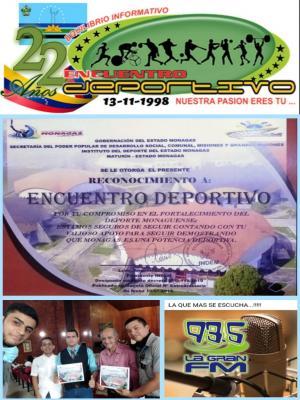 En Monagas: Programa radial Encuentro Deportivo recibe reconocimiento