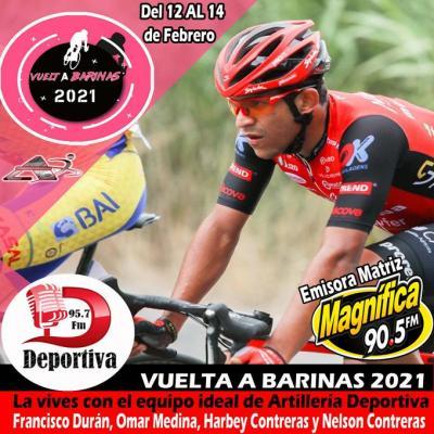 Más de 12 emisoras radiales transmitirán la Vuelta a Barinas