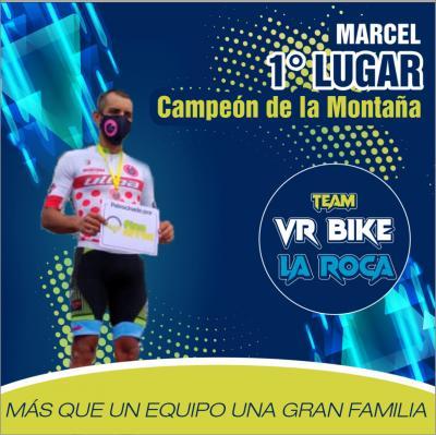 """El pedalista Marcial Lopez del """"Team La Roca"""" de Monagas gano la 2da etapa de la Vuelta a Barinas, y se titulo Campeón de la Montaña"""
