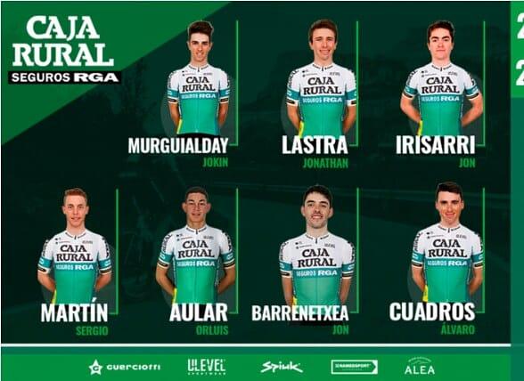 El ciclista Venezolano Orluis Aular Caja Rural_rga correrá 2 clásicas en Francia este fin de semana