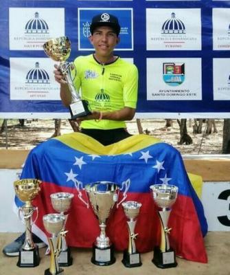 Después de 10 años Venezuela con Yurgen Ramírez vuelve a Coronarse en  la Vuelta Ciclistica Independencia Nacional en República Dominicana