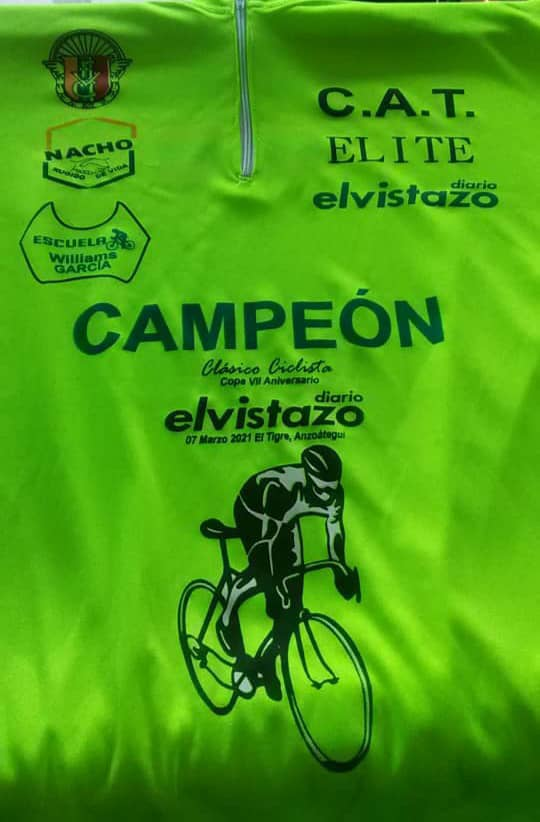 El Tigre será la capital del ciclismo de ruta en Venezuela el próximo domingo 7 de marzo