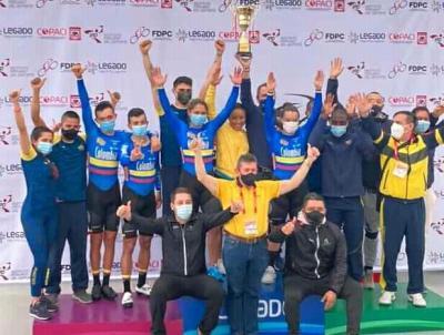 Colombia, campeón del Panamericano de ciclismo de pista en Peru
