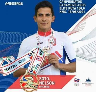 Colombiano Nelson Soto se título Campeón Panamericano de Ciclismo de ruta