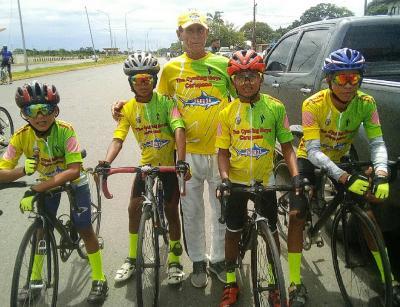 """El Club Ciclistico """"Los Chicos del Ciclismo de Carupano"""" Estado Sucre futuros Campeones del Ciclismo Venezolano"""